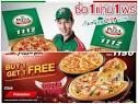 Promotion Scoozi Pizza Buy 1 Get 1 Free 2014 | Promotion2U โปรโม ...