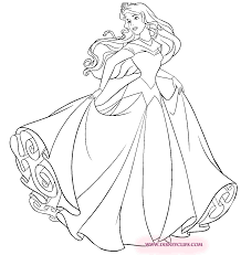 princess aurora coloring pages princess aurora with good fairies
