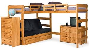 double size bunk bed with desk best home furniture decoration