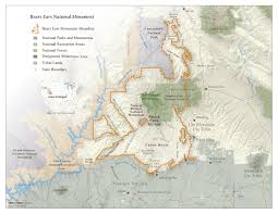 Canyonlands National Park Map Bears Ears National Monument Map Grand Canyon Trust