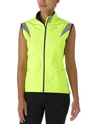 reflective bike jacket amazon com gore bike wear women visibility windstopper active