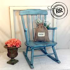 Antique Rocking Chair Prices Adorable Vintage Child U0027s Rocking Chair Painted With Homemade
