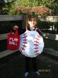 Halloween Baseball Costume Children U0027s Handmade Fun Baseball Ball Memoriesmadebyrose
