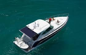 pleasure cabin and express cruiser boats sureshade