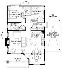2 bedroom house plans open floor plan 2017 including cottage