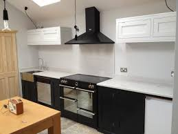 Enamel Kitchen Cabinets by Spraying Kitchen Cabinets Cost Waterborne Acrylic Enamel Paint