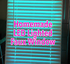 faux led window 9 steps