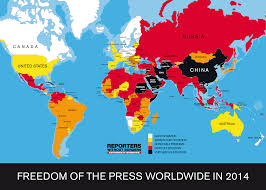 Somalia World Map by This World Map Shows Where Press Freedom Is Strongest And Weakest
