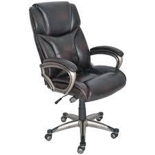 Brown Leather Task Chair Staples Giuseppe Bonded Leather Executive Chair Brown Staples