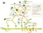 การเดินทางและแผนที่ (Location & Map) | Theerama Cottage : ธีรมา คอทเทจ