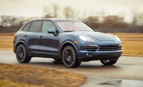 Porsche Cayenne Towing Capacity - 2013 porsche cayenne diesel test u2013 review u2013 car and driver