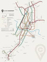 Texas Map Austin by Austin Urban Rail In 7 Maps Kut