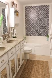 how to install a driftwood frame over your builder basic bathroom