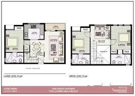 Nia Floor Plan by Duplex Apartment Plans