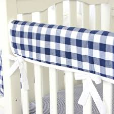 brett u0027s navy gingham baby bedding caden lane