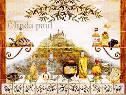 Kitchen Backsplash Mural Stone by Italian Tile Backsplash Kitchen Tiles Murals Ideas