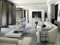 glamorous modern living room before and after robeson design
