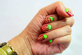 how to do strawberry nail art 7 steps with pictures wikihow