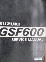 suzuki gsf600 bandit 1995 genuine workshop service manual u2022 14 00
