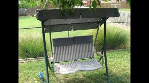 Patio Furniture From Walmart - how to replace a 2 seat patio swing cushion walmart model rus4860