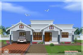 lofty single floor 4 bedroom house plans in kerala 15 1320 sqft