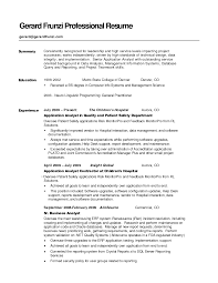 Career Goals Examples For Resume by Good Summary For A Resume Haadyaooverbayresort Com