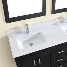 studio bathe corniche 60 inch double bathroom vanity espresso