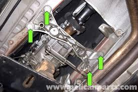 bmw e90 transmission mount replacement e91 e92 e93 pelican