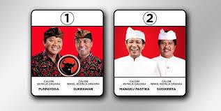 Dua pasangan calun Gubernur/Wakil Gubernur Bali 2013