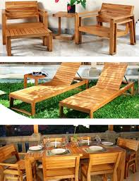 Building Outdoor Wood Furniture by 105 Best Outdoor Wood Furniture Images On Pinterest Outdoor