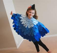 blue halloween costume fun bird like costume for kids at carnival carnival pinterest