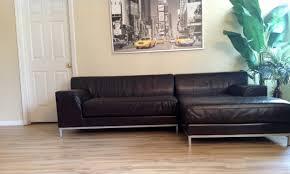 Furniture Luxury Ikea Leather Sofa For Comfortable Living Room - Ikea sofa designs