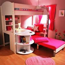 Girls Kids Beds by Girls Bunk Beds With Stairs And Desk Kids Bunk Bed With Desk