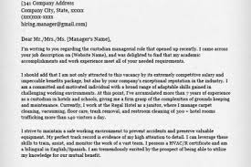 Janitor Sample Resume by Maintenance Job Application Cover Letter Examples