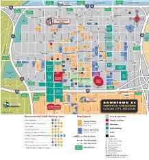 Downtown Dallas Map by Kansas City Maps Missouri U S Maps Of Kansas City