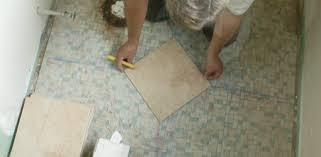 Bathroom Tile Installation by How To Tile A Bathroom Floor Today U0027s Homeowner