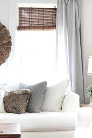 Windows Treatment Ideas For Living Room by 25 Best Linen Curtains Ideas On Pinterest Restoration Hardware