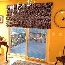 window treatment for glass door roman shades from for sliding glass door whimsical windows