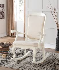 Antique Rocking Chair Prices Amazon Com Acme Furniture 59388 Sharan Rocking Chair Antique