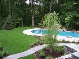 134 best pool landscape images on pinterest gardens