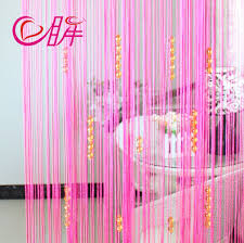 beaded room dividers decorating beautiful interior room divider design with pink