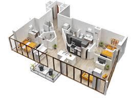 Floor Plan 2 Bedroom Apartment 25 Two Bedroom House Apartment Floor Plans
