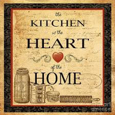 Vintage Decorating Ideas For Kitchens by Kitchen Cozy Image Of Light Brown Vintage Heart Of The Home Retro