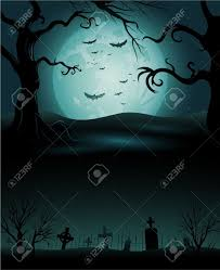 creepy tree halloween background copyspace royalty free cliparts