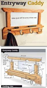 Wall Mounted Shelves Wood Plans by Best 25 Furniture Plans Ideas On Pinterest Wood Projects