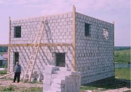 Постройка домов из пеноблоков