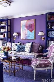 Blue Livingroom 15 Best Purple Rooms U0026 Walls Ideas For Decorating With Purple