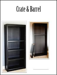 adding molding to inexpensive bookcases to make them look more