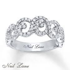 neil lane engagement rings jared neil lane designs lace 3 4 ct tw diamond ring 14k white gold