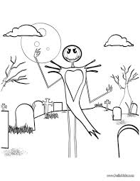 happy halloween scarecrow coloring pages hellokids com